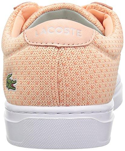 Womens Lacoste L.12.12 Lightweight1181caw Luce Sneaker Pnk / Org