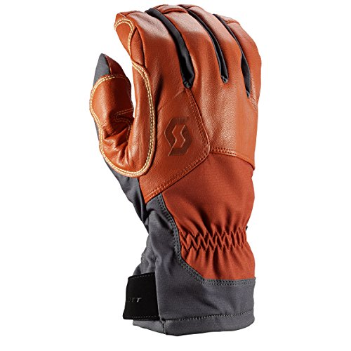 (Scott Explorair Tech Glove - 244442 (Dark Grey/Burnt Orange - L))