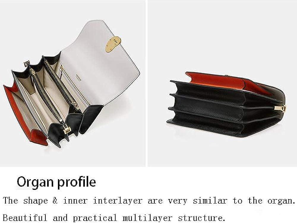 Baobao Women's Bag Summer Organ Color Matching Multi-layer Wide Shoulder Strap Shoulder Messenger Bag B