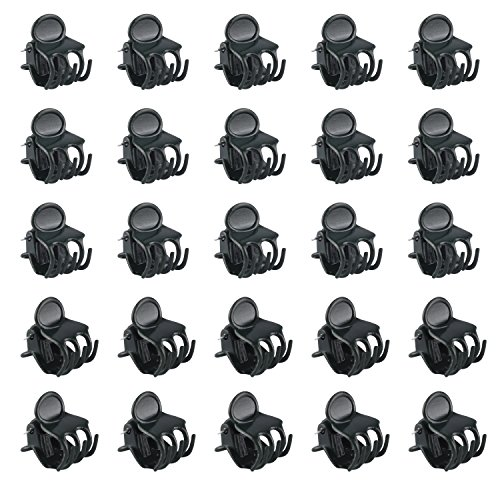 Clip Medium Orchid (WBCBEC 200 Pack Orchid Clips Plant Orchid Support Clips)