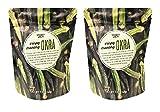 Trader Joe's Crispy Crunchy Okra 1.4oz (Pack of 2)