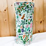 Unpaper Towels, Snapkins, Reusable ''Paper'' Towels, Set of 12, Garden Print