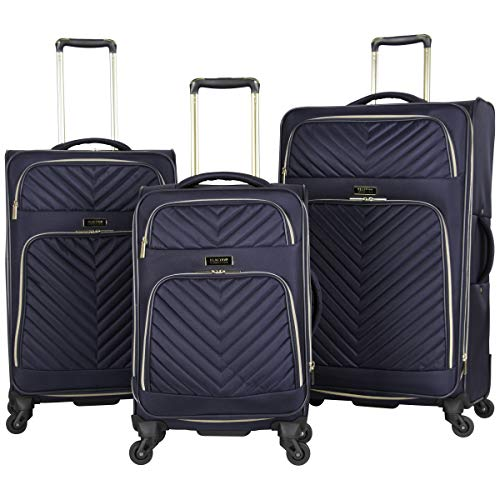 Quilted Carry On Luggage Set - Kenneth Cole Reaction Women's Chelsea 3-Piece 20