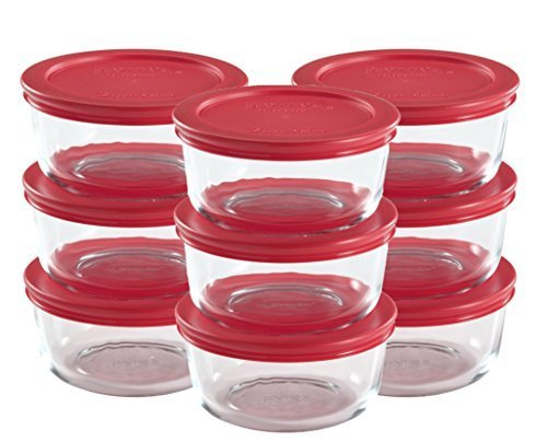 Pyrex 18-Piece Glass Food Storage Set with ()