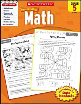 Amazon scholastic success with math grade 5 scholastic amazon scholastic success with math grade 5 scholastic success with workbooks math 9780545200677 scholastic books fandeluxe Gallery