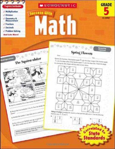 Scholastic Success with Math, Grade 5 (Scholastic Success with Workbooks: Math) PDF