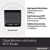 NETGEAR Cable Modem WiFi Router Combo C6250