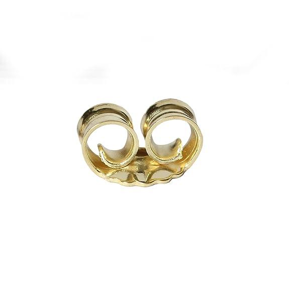 585 ECHT GOLD *** 1 Paar Ohrmuttern Gegenstecker Ersatzteil für Ohrstecker