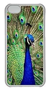 Animals 097 PC Case Cover for iPhone 5C Transparent