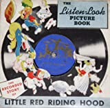 Little Red Riding Hood Look & Listen Picture Book & Record (1941)