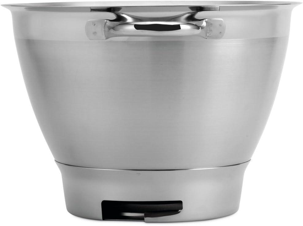 Kenwood Chef Stainless Steel Bowl KAT521SS Elite 4.6Litre, Dishwasher Safe