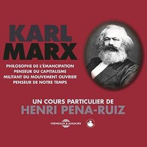 Karl Marx Speech