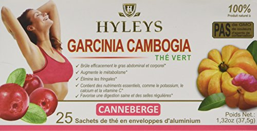 Hyleys Tea Wellness Tea Garcinia Cambogia And Cranberry 25 Count