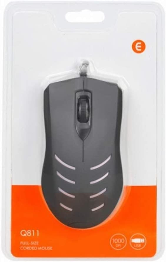 Laptop Desktop Mac Wang5995 Office Home Mouse Scrub USB Wired Mouse Computer Mouse Optical Mouse for PC