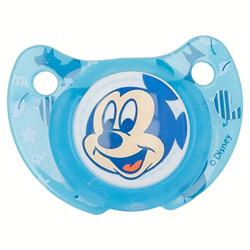 Chupete tetina anat/ómica silicona dise/ño Mickey Mouse 6 m en blister Stor ST-39807
