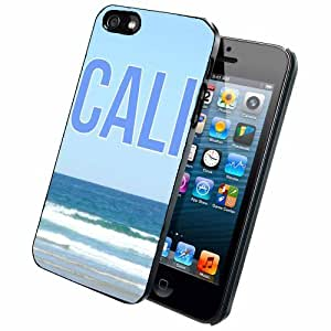 CALI BEACH SCENE - Case Back Cover (iPhone 4/4s - Plastic)