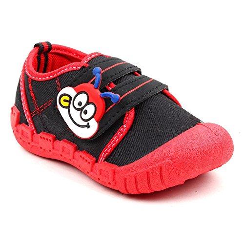 abb479b2b53a MYAU Kid s Girl s Boys Black Red Cartoon Monkey Face Velcro Closure  Outdoor