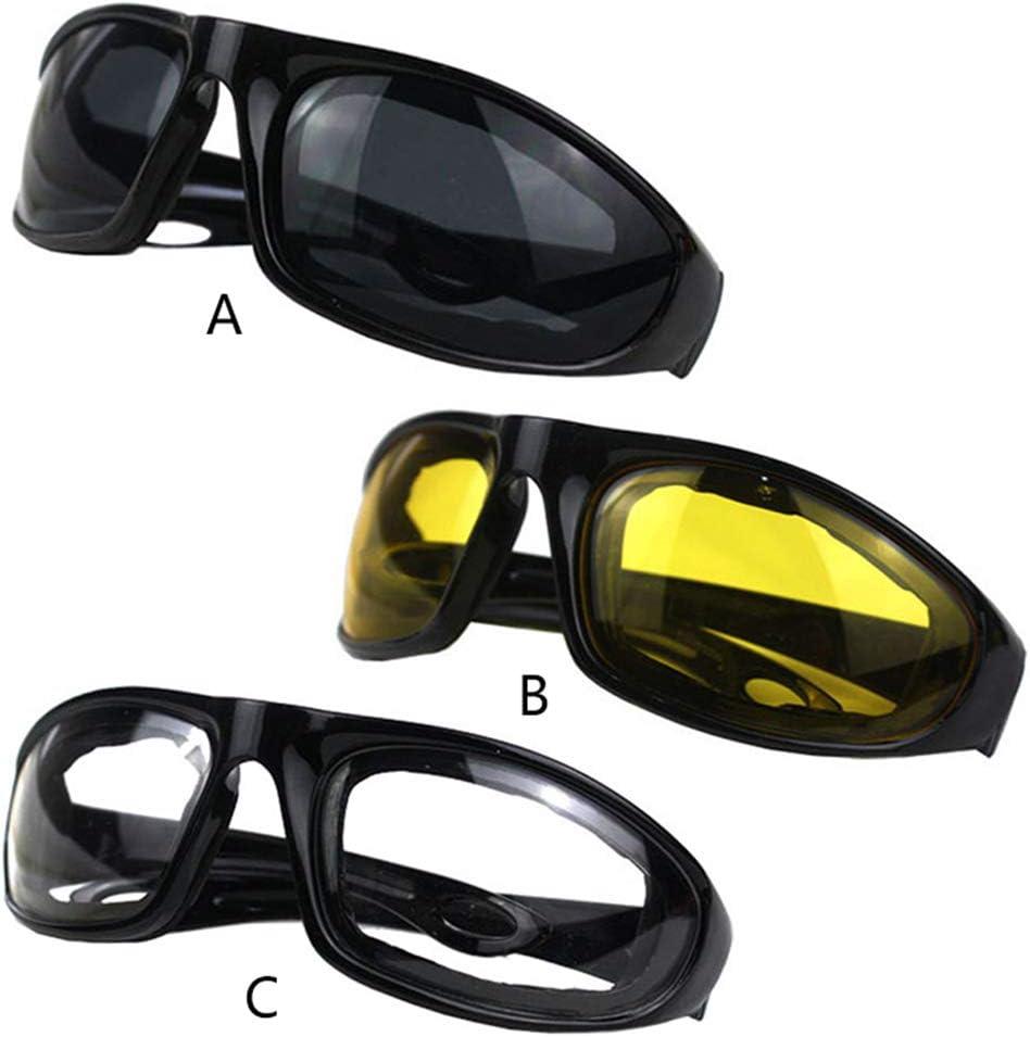 planuuik Conducci/ón Gafas de Motocicleta Gafas Protectoras de Motocicleta Gafas de Sol Montar a Prueba de Viento Motor Gafas Ciclismo Exterior Universal