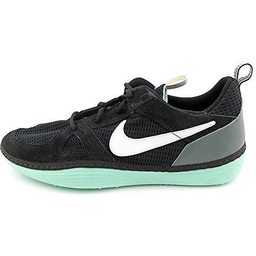 Nike Solarsoft Run Mens Running Sneakers Navy Blue Red Black/White-bomber Grey KMNkoq