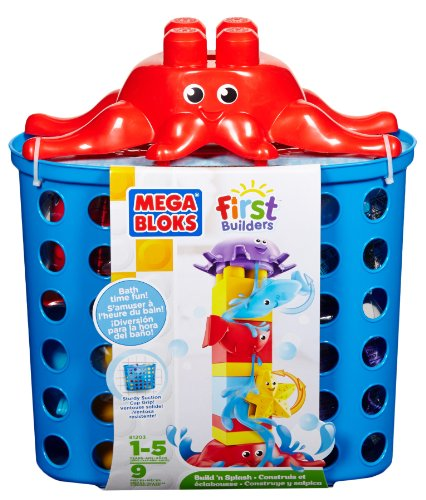 Mega Bloks First Builders Build N' Splash Bottom Blocks