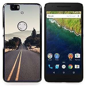 SKCASE Center / Funda Carcasa protectora - Vaciar la carretera EE.UU.;;;;;;;; - Huawei Google Nexus 6P
