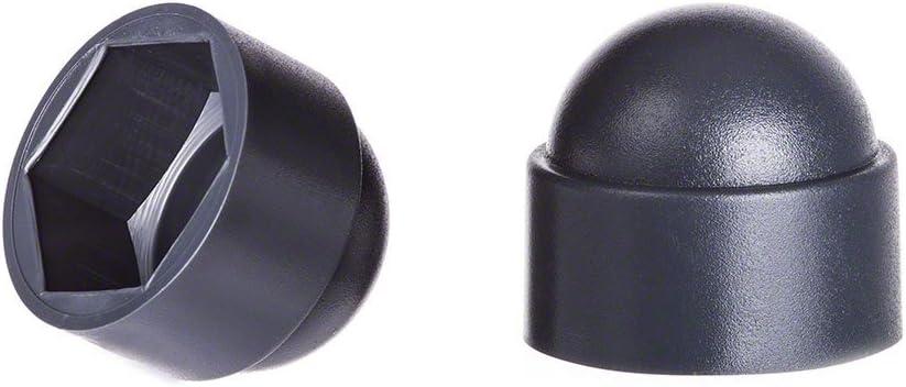 cache-/écrous 5 anthracite Cache-vis Bouche-trou Bouchons de tuyau 25 Stck