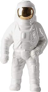 MASSJOY Astronaut Ceramic Vase Home Accessories Ornaments.