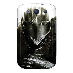 ETi2936SeWo Dark Souls Elite Knight Fashion Tpu S3 Case Cover For Galaxy