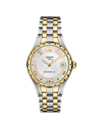 Tissot Lady 80 Automatic White Two-tone Ladies Watch T0722072211800