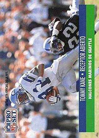 Amazon Com 1991 Pro Set Spanish Football 229 Tommy Kane Seattle