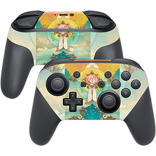 MightySkins Skin Compatible with Nintendo Switch Pro Controller - Divine  Offering | Protective, Durable, and Unique Vinyl Decal wrap Cover | Easy to