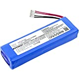 subtel® Qualitäts Akku für JBL Charge 2, Charge 2 Plus/Charge 2+, Charge 3 (2015) (6000mAh) P763098,GSP1029102R - !Nicht! kompatibel mit Original-Akku MLP912995-2P Ersatzakku Batterie