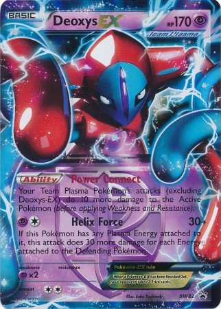- Pokemon - Deoxys-EX (BW82) - BW Black Star Promos - Holo