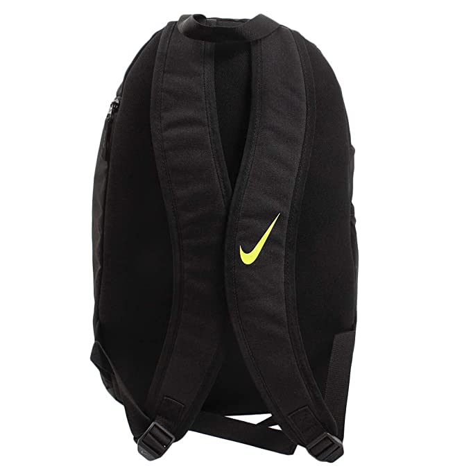 6c69232b6f6a6 Amazon.com | Nike Academy 2.0 Backpack (Black/Crimson, One Size ...