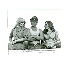 MOVIE PHOTO: CANNONBALL RUN II-1984-7X10 PROMO STILL-SUSAN ANTON-JOE THEISMANN-ACTION-COMEDY