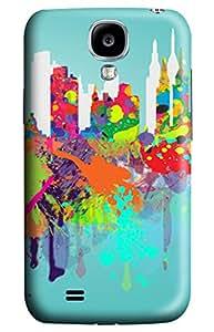 CaseandHome New York City Splash Design PC Material Hard Case For Samsung Galaxy S4 I9500