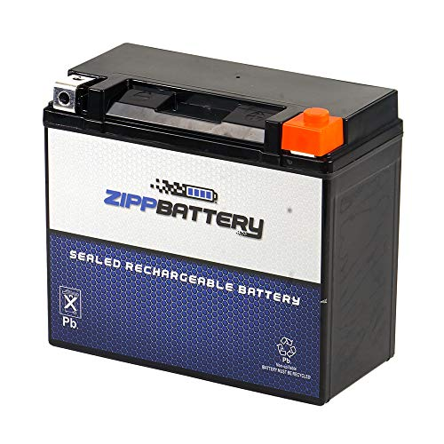 - Replacement YTX20HL-BS - Rechargeable Motorcycle Battery - Factory Sealed and Activated - Maintenance Free - Zipp Battery