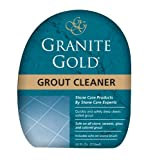 Granite Gold Grout Cleaner Scrub Brush - Acid-Free Tile Grout Cleaning Dirt, Mildew, Mold - 24 Ounces