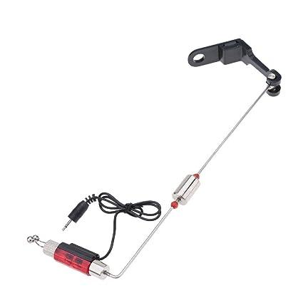 Amazon.com : Red Fishing Swinger Iron Fishing Bite Alarm ...