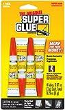 Super Glue Super Glue SGH24J-12 2-Gram Tubes, 48-Pack(Pack of 48)