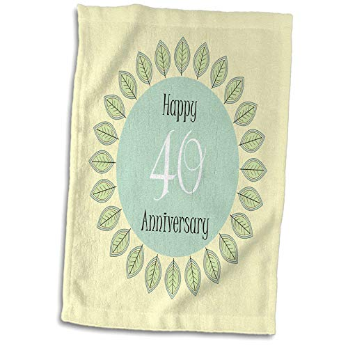 3D Rose Seas The Day Play On Words Nautical Beach Theme Bold Stripes Hand Towel 15 x 22 Multicolor