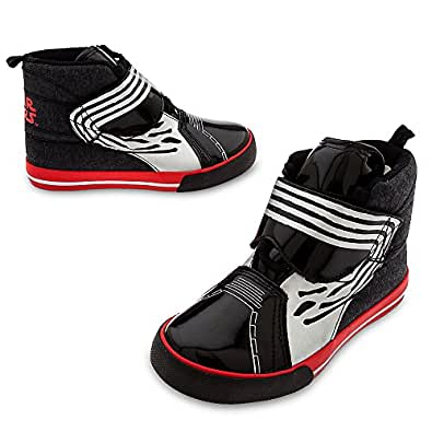 Star Wars Kylo Ren Sneaker for Boys Size 7 TODDLER Black