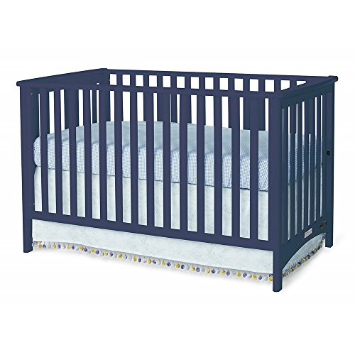 Childcraft London Euro Crib-Navy by Child Craft