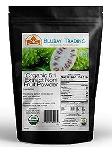 1 LB ORGANIC NONI FRUIT Powder 5:1 Extract PURE (16 OZ) FREE SHIPPING
