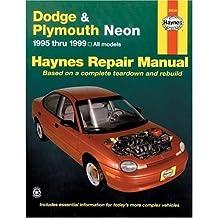 Dodge & Plymouth Neon Haynes Repair Manual (1995-1999)
