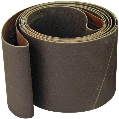 6x48 Aluminum Oxide 100 Grit Sander Belt, x-weight<br>A&H Abrasives 806741x5, 5-pack by A&H Abrasives