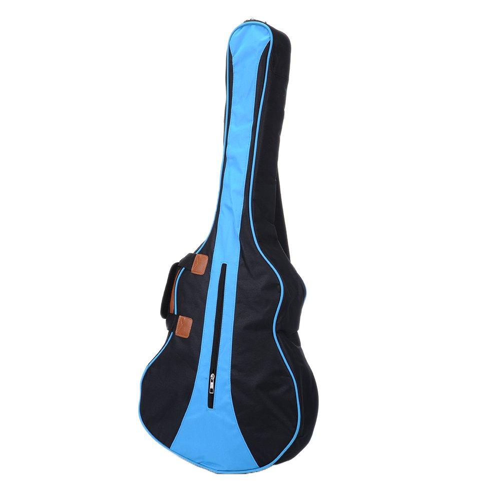 b1268f0c177 Amazon.com: Jacktom Deluxe Guitar Bag Waterproof Dual Adjustable Shoulder  Strap Gig Bag Backpack Cover Case for Acoustic Guitar 34