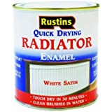 Rustins RADS250 250ml Quick Dry Radiator Paint Satin by Rustins