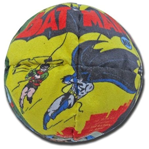 Hacky Sack - Batman Vintage Comics 8 Panelled Suede by Adventure Trading