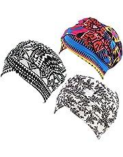 Ever Fairy Turban Head Wrap Scarf,African Women' Soft Long Scarf Shawl Hair Bohemian Headwrap Stretch Headband Tie